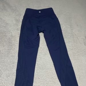 Lululemon Fit Physique Tight in hero blue size 2/4. Very good condition!